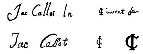 la signature de Jacquescallot
