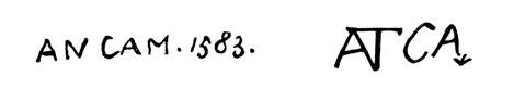 la signature de Antoniocampi
