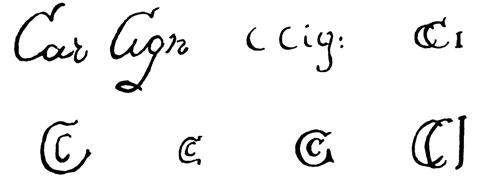 la signature de Carlocignani