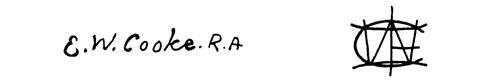 la signature de Edward Williamcooke-e