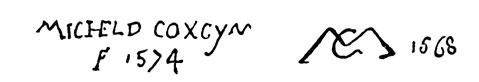 la signature de MichielI.coxie