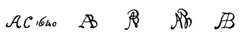la signature de AbrahamVancuylenborch